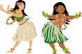 Hula dance lesson