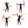 Hula Hoops Stock Images