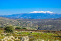 Hula Valley and Mount Hermon, Northern Israel Royalty Free Stock Photo