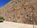 Hulda Gates Jerusalem Archaeological Park Royalty Free Stock Photo