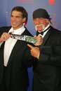 Hulk Hogan,Lou Ferrigno Royalty Free Stock Photo
