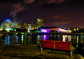 Hull by night Royalty Free Stock Photo