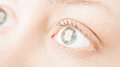 Human eyes Royalty Free Stock Images