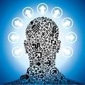 Člověk hlava