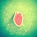 Human Heart Textured Concept A...