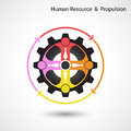 Human resource and business & industrial propulsion concept.