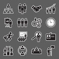 Human resource icon Royalty Free Stock Photo