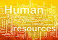 Human resources background concept Stock Photos