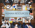 Human Resources Jobs Recruitment Profession Concept Royalty Free Stock Photo