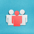 Human resources and management icons set Royalty Free Stock Image