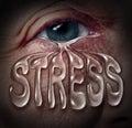 Human Stress Royalty Free Stock Photo