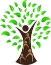 Human tree Royalty Free Stock Photo