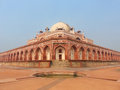 Humayun s tomb in delhi india it was the first garden on the indian subcontinent Stock Photography