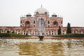 Humayun s Tomb Facade Royalty Free Stock Photo