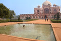 Humayun s tomb with water pool delhi india in front of it it was the first garden on the indian subcontinent Stock Photos