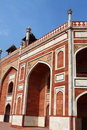 Humayun Tomb in New Delhi. Royalty Free Stock Images