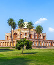 Humayuns Tomb Stock Image