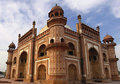 Humayuns Tomb, India. Royalty Free Stock Images