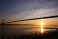 Humber Bridge, Kingston upon Hull. Royalty Free Stock Photo