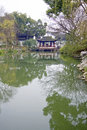Humble administors gardens suzhou china reflections on the canals in the unesco site of the Stock Photos