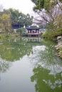 Humble Administors Gardens, Suzhou, China Royalty Free Stock Photo