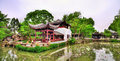 Humble Administrator's Garden, the largest garden in Suzhou Royalty Free Stock Photo