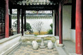 Humble administrator s garden is the representative works of chinese jiangnan classical in was approved by unesco included Stock Image
