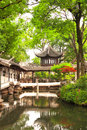 Humble administrator s garden in suzhou china summer day Stock Image