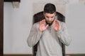 Humble Muslim Prayer Royalty Free Stock Photo