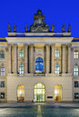 Humboldt university in berlin germany faculty of law at the at night Royalty Free Stock Photography