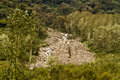 Humid andean moor landscape in oyacachi ecuador beautiful natural Stock Photography