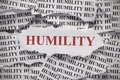 Humility Royalty Free Stock Photo