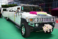 A hummer the stretch which is used to wedding Royalty Free Stock Images
