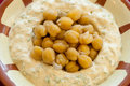 Hummus Beiruti Stock Photos