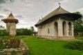 Humor monastery romania near suceava Royalty Free Stock Photo