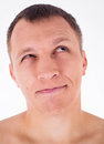 Humorous portrait of man Royalty Free Stock Photography
