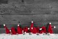 šedá a biely drevený vianočné pozadie