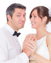 Humour wedding Royalty Free Stock Photography