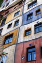 Hundertwasser House Stock Photo