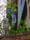Hundertwasser house closeup upward view of the located in vienna austria Royalty Free Stock Image