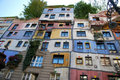 Hundertwasser house in Vienna Stock Photos