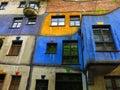 Hundertwasser House Vienna Royalty Free Stock Photo