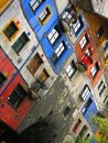 Hundertwasser Krawina House Vienna Royalty Free Stock Photo