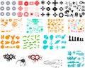 Stovky z grafický prvky