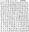 Stovky z japonec znak