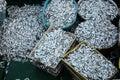 Hundreds of thousands fish Royalty Free Stock Photo