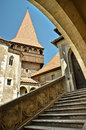 Hunedoara Castle details Royalty Free Stock Photos