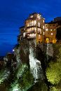 Hung houses of Cuenca, Spain Stock Photo