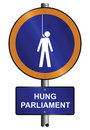 Hung parliament Stock Photography