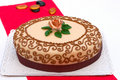 Hungarian chesnut cake for all occasions Royalty Free Stock Image